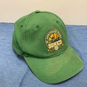 Sonics 40yr anniversary hat